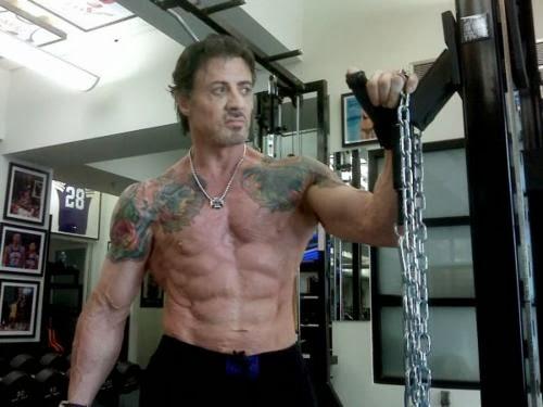 Sylvester Stallone Tattoo