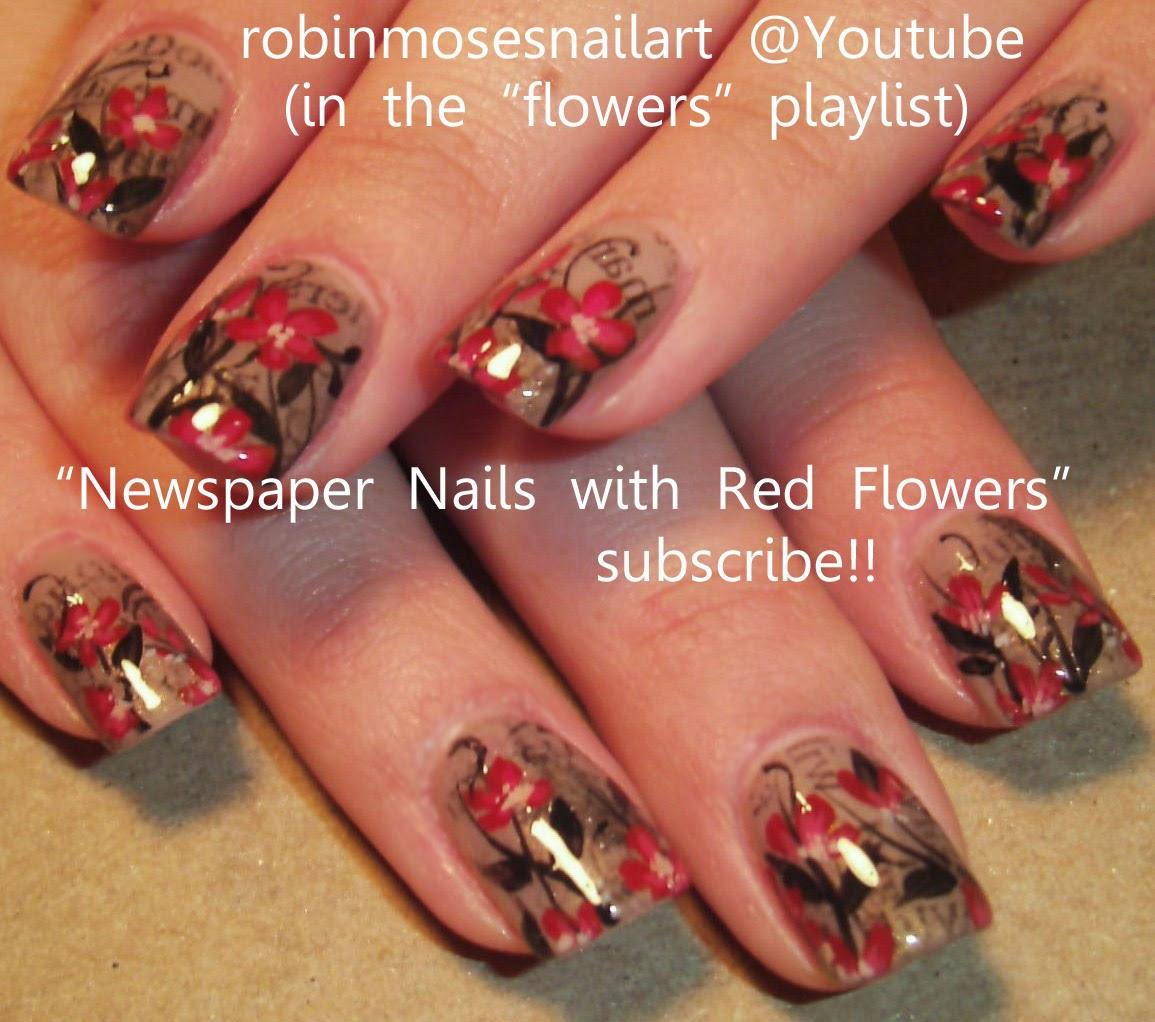 Nail Art by Robin Moses: Sharpie Nail Art Hack! Easy Nail Art ...