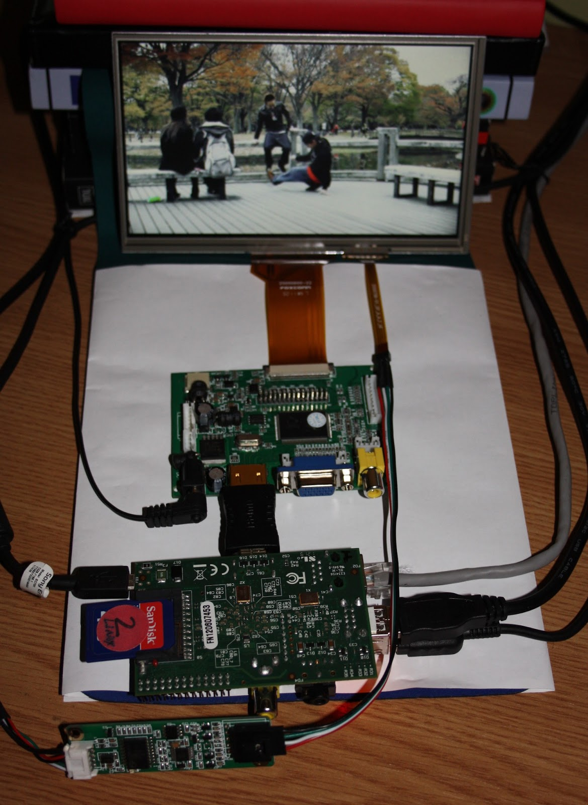 Engineering Diy Raspberry Pi Raspbian Xbmc And Egalax 7