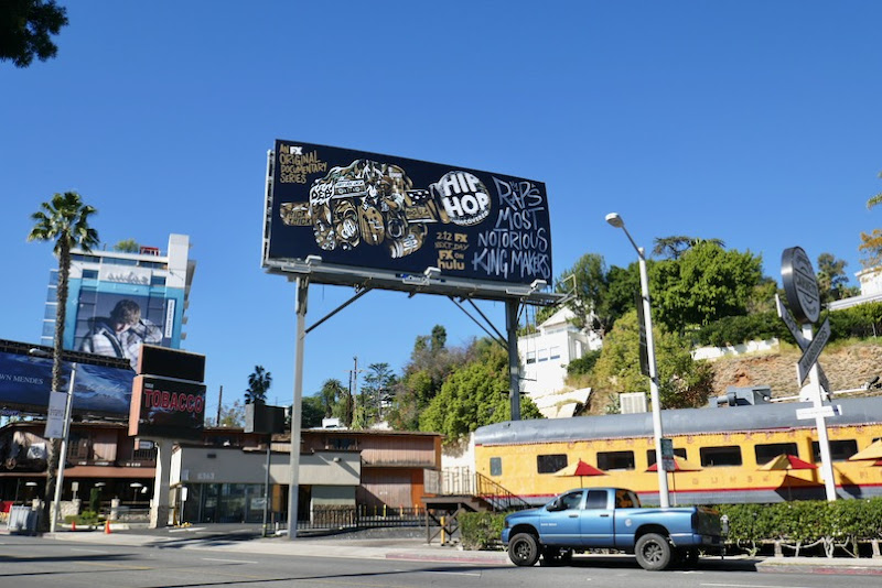 Hip Hop Uncovered billboard