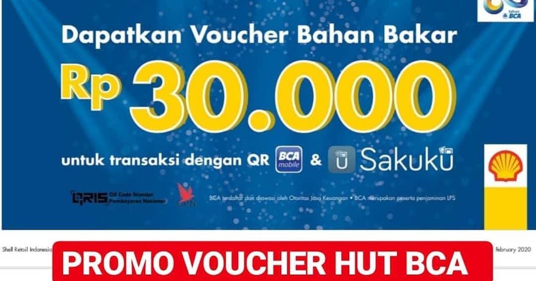 Shell Promo Hut BCA 63 Dapatkan Voucher Bahan Bakar Rp.30