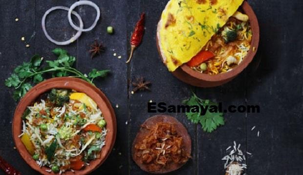 சத்ராங்கி பிரியாணி ரெசிபி | Satrangi Biryani Recipe !
