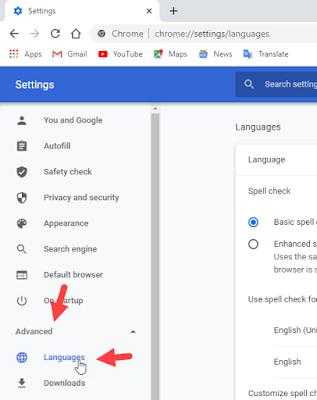 Mengganti Bahasa pada Google Chrome