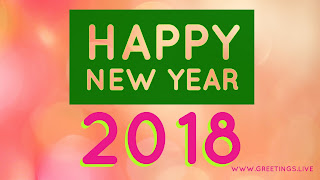 Cool class look festival greetings on New Year 2018 Greetings live