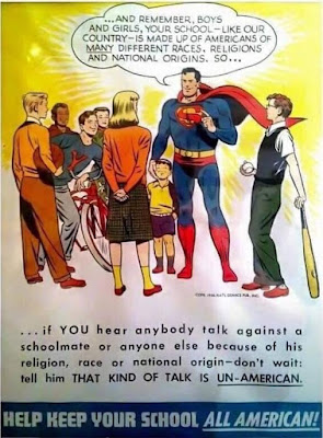 Superman -- Help Keep Your School All-American