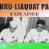 Opinion: Nehru-Liaquat Pact Explained