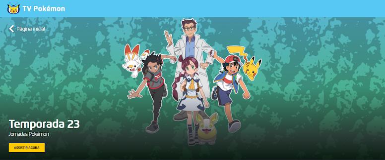 Jornadas Pokémon Dublado Online