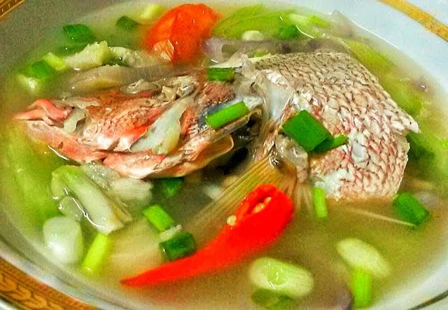 Resepi Sup Ikan Merah Ringkas Dan Mudah