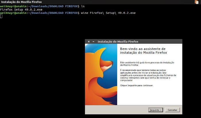 instalar programa do windows no ubuntu usando o wine