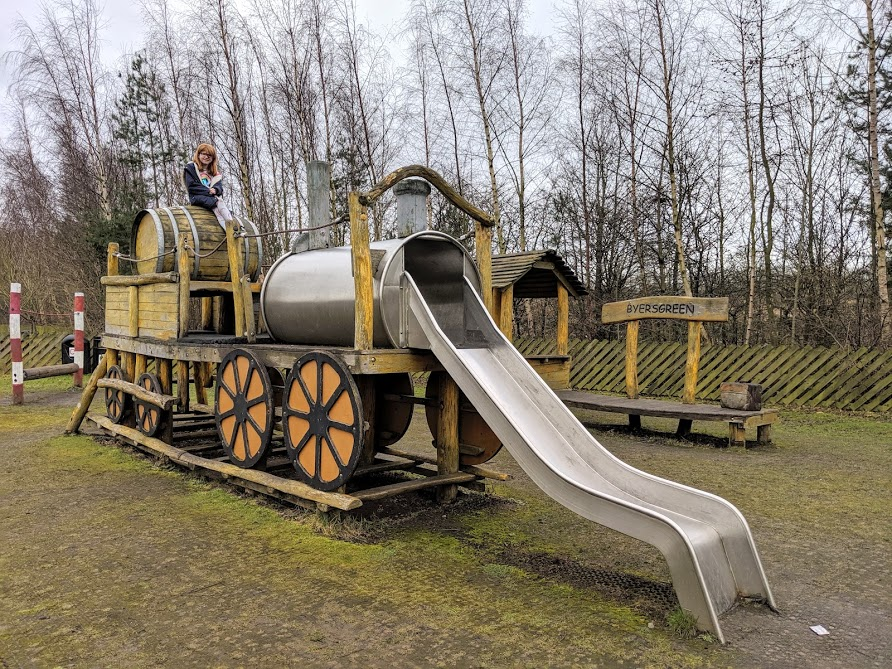 10 Reasons to Visit Locomotion Shildon  - train playground