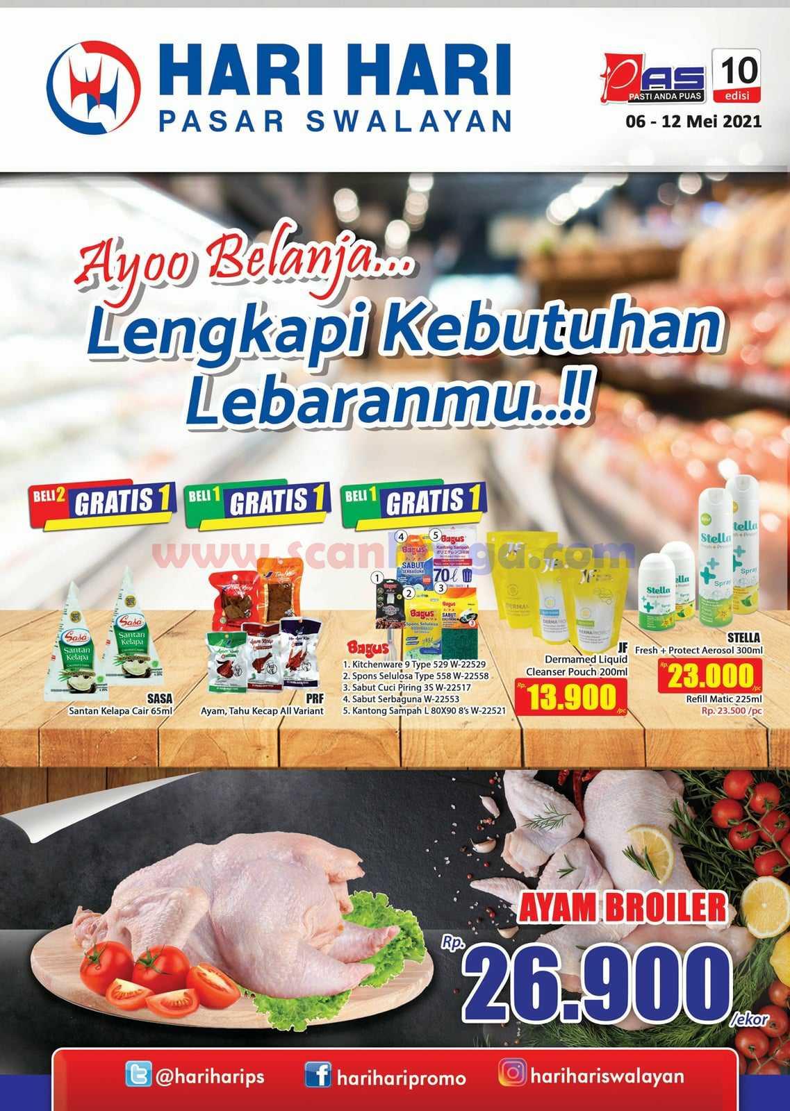 Katalog Promo Hari Hari Pasar Swalayan 6 - 12 Mei 2021