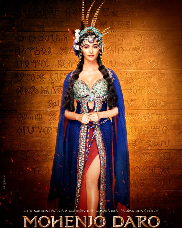 full cast and crew of bollywood movie Mohenjo Daro 2016 wiki, Hrithik Roshan, Pooja Hegde story, release date, Actress name poster, trailer, Photos, Wallapper
