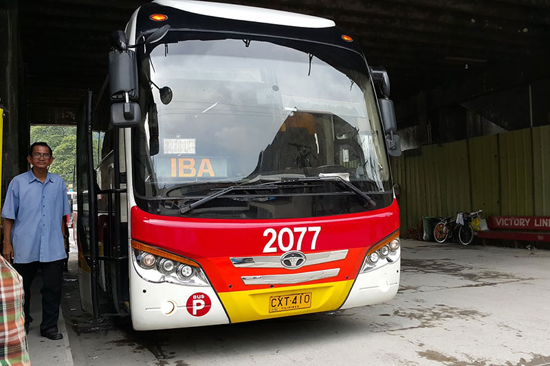 Victory Liner Olongapo Bus Station