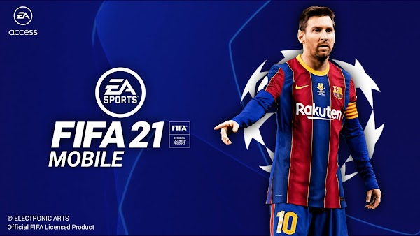 FIFA 21 Mobile UCL Edition Best Graphics (Offline)
