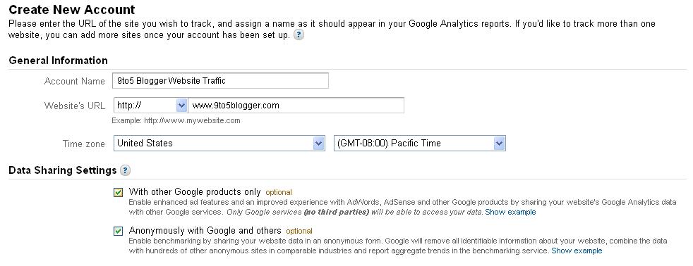 Add Google Analytics to WordPress or BlogSpot Blog