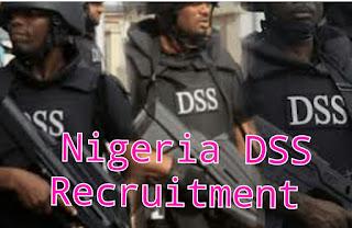 DSS Nigeria Recruitment 2020/2021 Application Portal www.dss.gov.ng