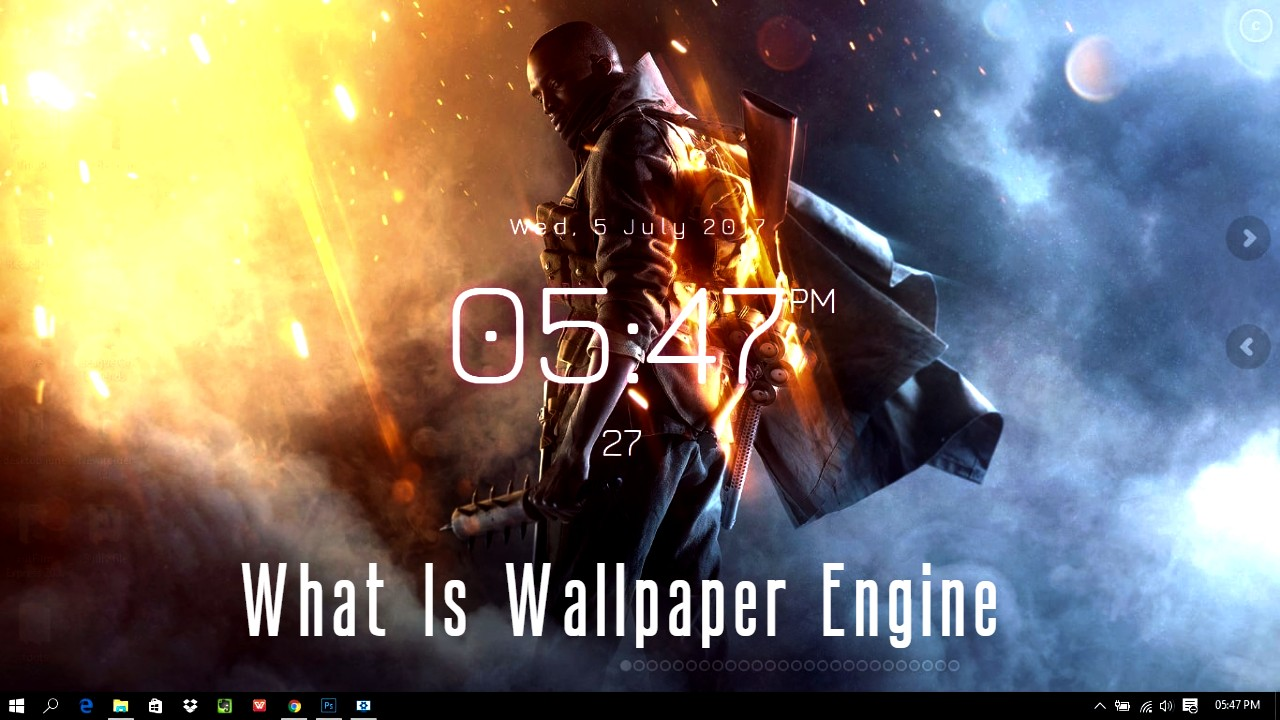 What is wallpaper Engine