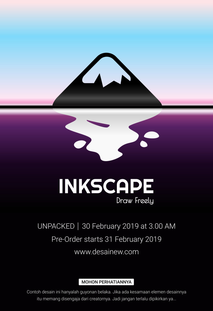 teaser poster inkscape samsung galaxy s10 tutorial graphic design adobe illustrator vector coreldraw