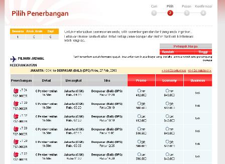 Lion Air Informasi Harga Tiket Booking Promo Online Jadwal Dan Pesawat Harga Tiket Lion Air