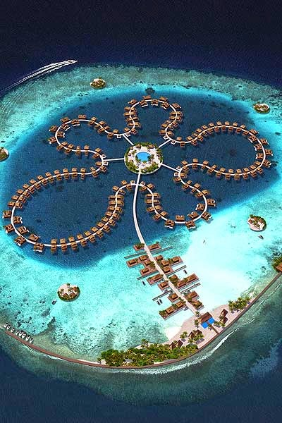The Ocean Flower Hotel, Maldives 10 Most Beautiful Island Countries in the World