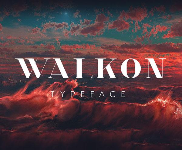 WalkOn Free Font