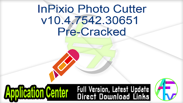 InPixio Photo Cutter v10.4.7542.30651 Pre-Cracked