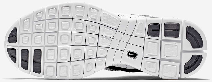 low cost d3e26 2b28d The midsole and the outsole of the grey Nike Free Mercurial Superfly  Sneakers are white with a subtle Dark Obsidian splatter graphic pattern to  complete the ...