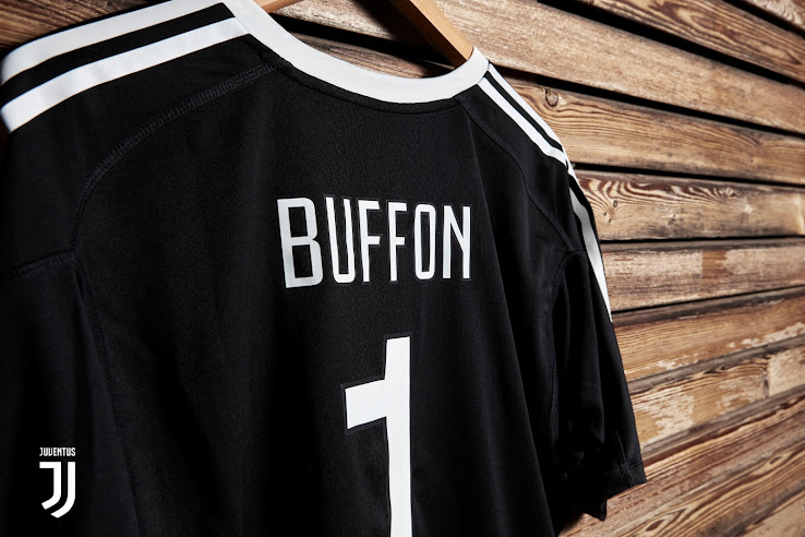 c861d2ef4 ... Juventus 2017-18 Buffon goalkeeper jersey. This means that it has had  every detail meticulously crafted from the logo to the stars to the
