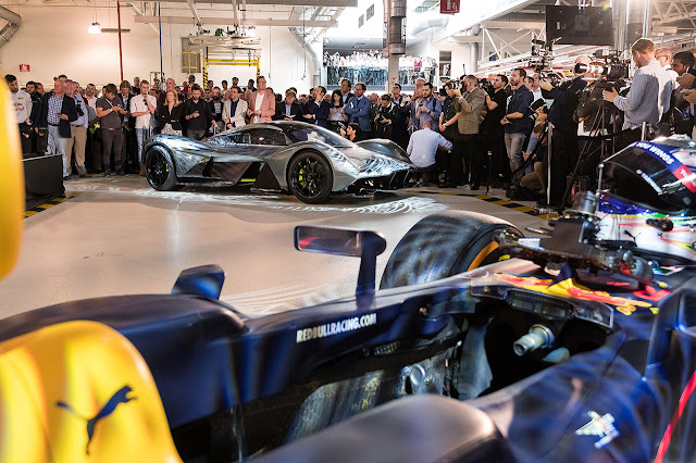 Aston Martin and Red Bull Racing unveil AM-RB 001 hypercar
