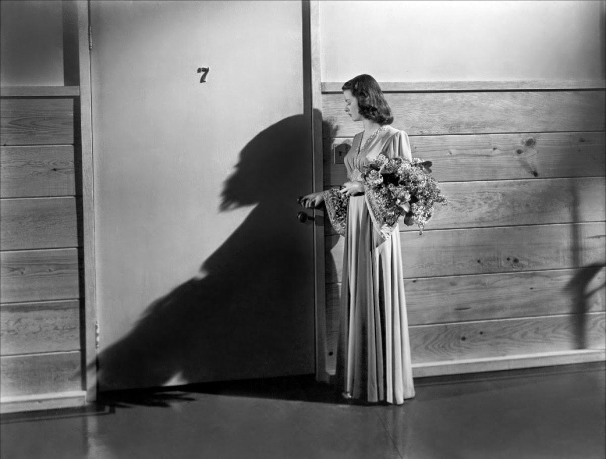 Joan Bennet dans Le Secret derrière la porte, de Fritz Lang (1948)