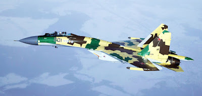 Pesawat Sukhoi Su-35 Flanker-E