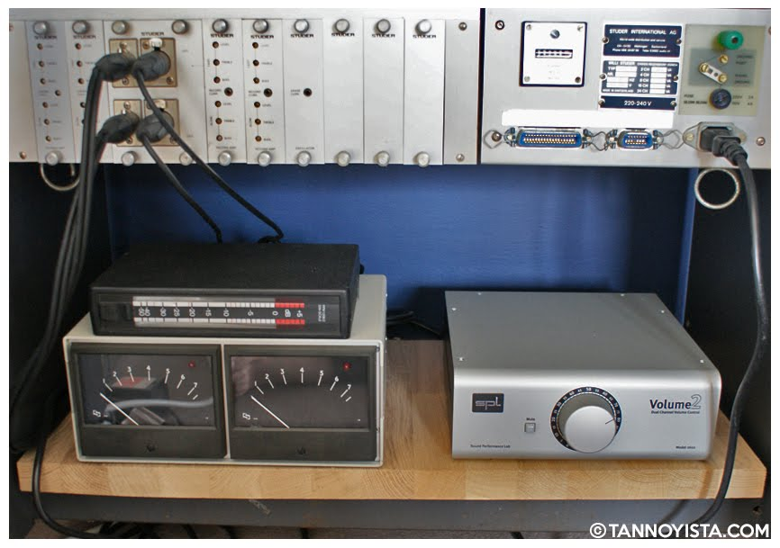 The Studer A80/R Master Tape Recorder with RTW meter, PPM meter and SPL master control- Tannoyista.com
