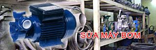 Sửa máy bơm nước bị cháy động cơ mô tơ