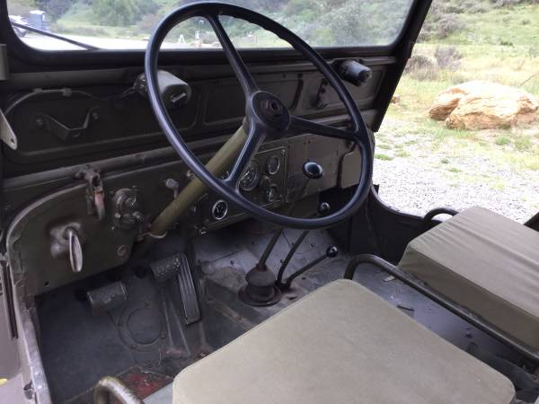 Jeep Willys M Interior on Willys M38 Engine