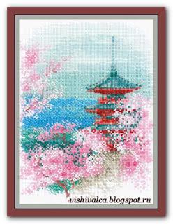 1743 «Сакура. Пагода» riolis