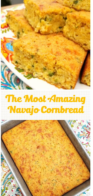 The Most Amazing Navajo Cornbread