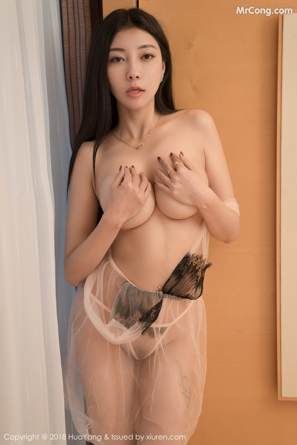 Image HuaYang-2018-01-26-Vol.028-Victoria-Guo-Er-MrCong.com-011 in post HuaYang 2018-01-26 Vol.028: Người mẫu Victoria (果儿) (41 ảnh)