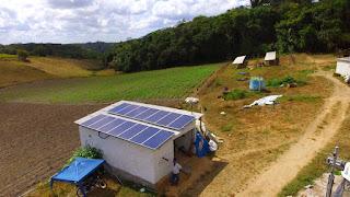 Energia solar é alternativa para reduzir custos no campo