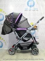 Pliko PK288 Monaco Standard Baby Stroller Purple