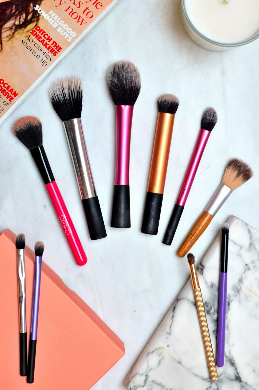 Life Of A Beauty Nerd - Favourite Make-Up Brushes