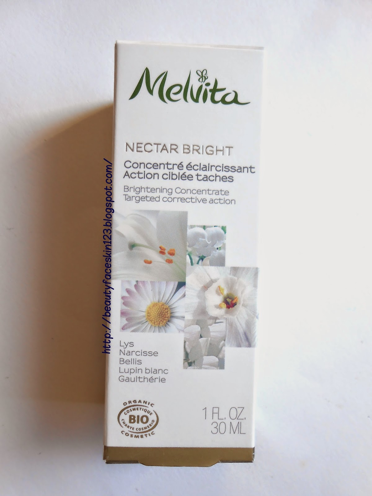 MELVITA NECTAR BRIGHT BRIGHTENING CONCENTRATE