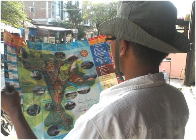 Membaca Peta Area Lokasi Taman Simalem Resort