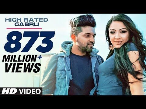 High Rated Gabru हाई रेटेड गबरू Lyrics - Guru Randhawa feat. Manj Musik (Hindi/English) | Punjabi Song