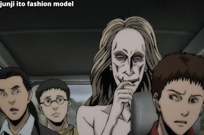 junji ito fashion model