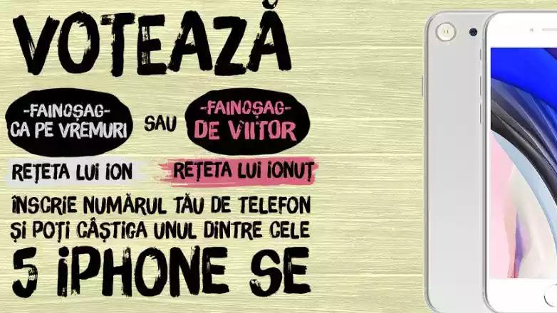 Câștigători concurs PATEU ARDEALUL 2020 iPhone SE 2. Votează pe ardealulcufainosag.ro și câștigă!