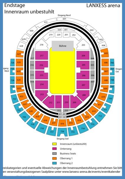 Lanxess Arena Pläne der Halle und Sitzplätze from Lanxess arena sitzplan, lanxess arena sitzplan unterrang, sitzplan lanxess arena unterrang, köln lanxess arena sitzplan,