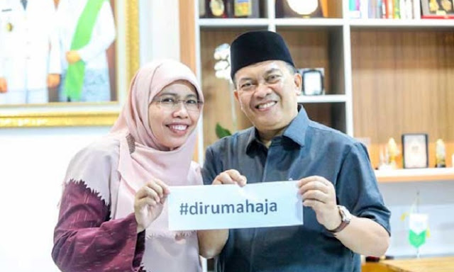 Hasil Rapid Test Hasil Negatif Corona, Wali Kota Bandung Ucapkan Rasa syukur