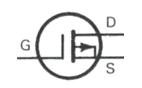 Transistor Symbol - MOSFET P  Channel