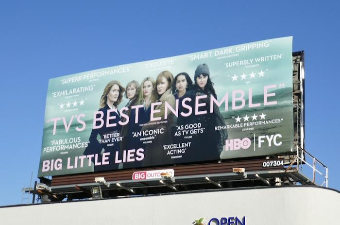 Big Little Lies season 2 HBO FYC billboard