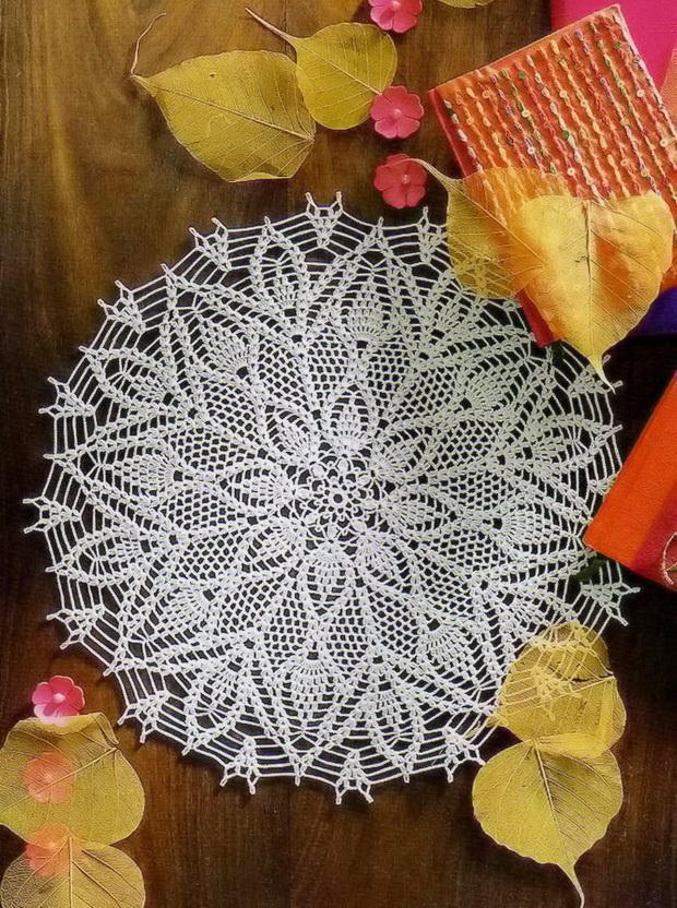 Doily - Crochet Lace Doily - Crochet Pattern